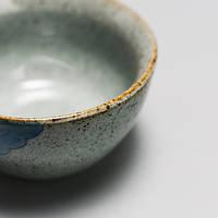 Чашка для чаепития расписная фарфор тучи 50 мл, фото 2