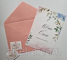 Крафт конверт С6 рожевий, ЕКО 80г\м. клапан трикутний, 114*162мм