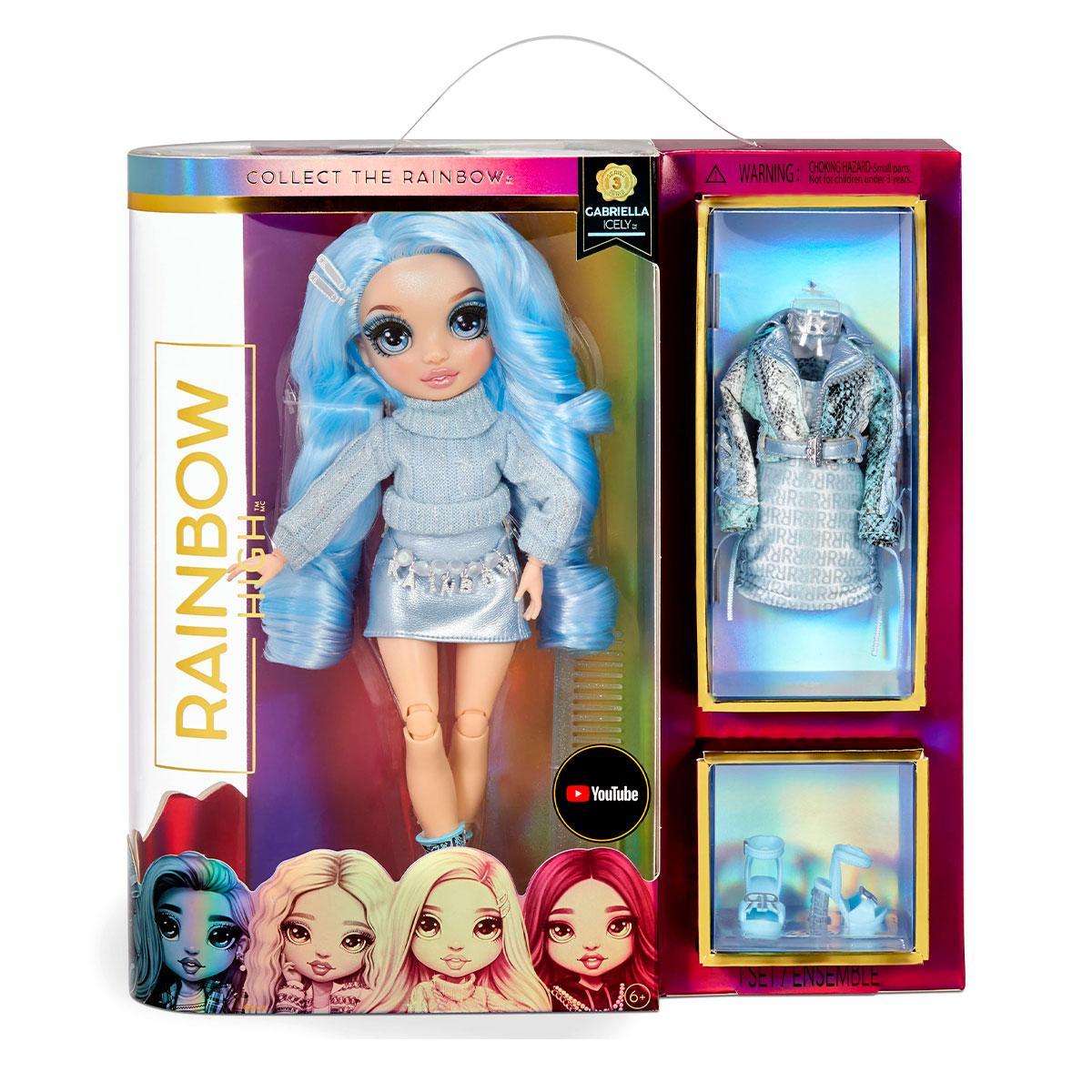 Кукла Rainbow High игровой набор S3 - Льдинка