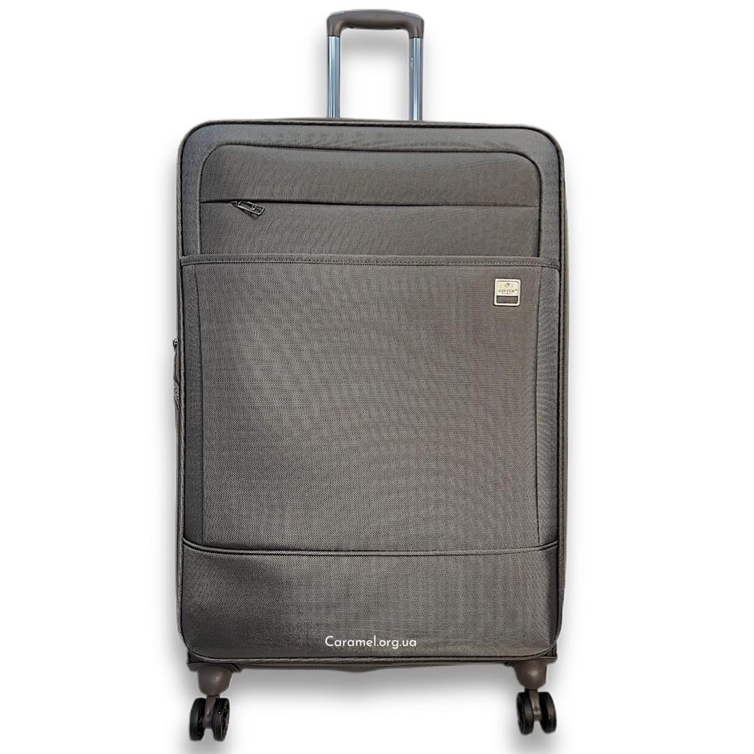 Валіза тканинний на 4х колесах великий L сірий   80х47х31 см   3.700 кг   108 л   AIRTEX 832
