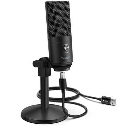 Студійний мікрофон для стріму Fifine K670B, фото 2