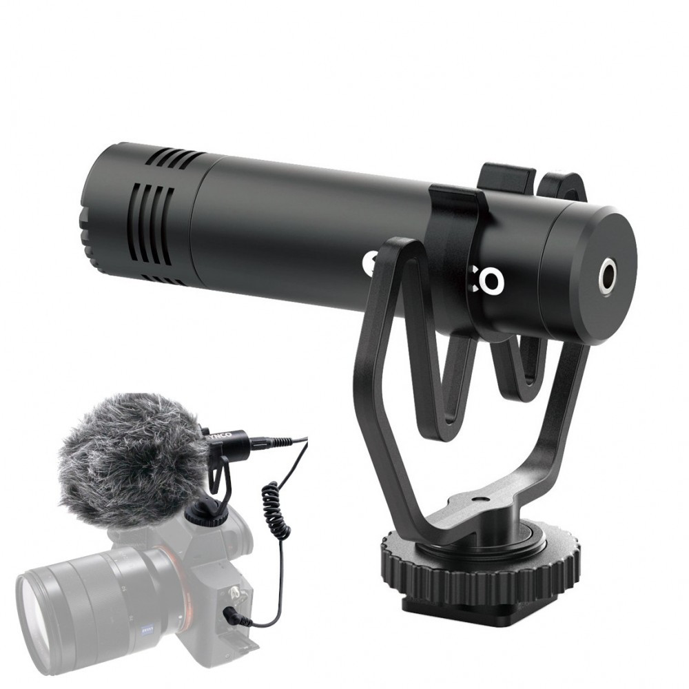 Микрофон пушка для телефона камеры Synco Mic-M1