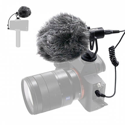 Микрофон пушка для телефона камеры Synco Mic-M1, фото 2