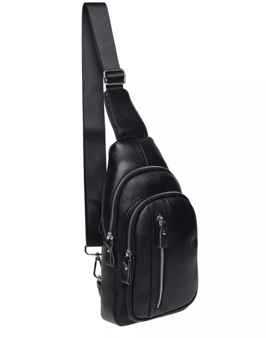 Мужская кожаная сумка-слинг через плече TidinBag - MK 09823