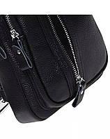 Мужская кожаная сумка-слинг через плече TidinBag - MK 09823, фото 5