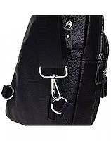 Мужская кожаная сумка-слинг через плече TidinBag - MK 09823, фото 4