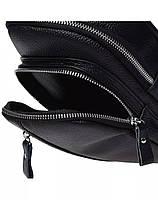 Мужская кожаная сумка-слинг через плече TidinBag - MK 09823, фото 6