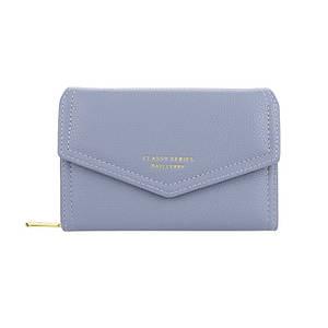 Женский кошелек Baellerry NR065 Blue стильный аксессуар Байлери на одно плечо для девушек