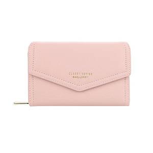Женский кошелек Baellerry NR065 Light Pink стильная сумка на одно плечо от Байлери