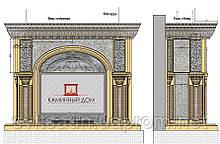 Разработка,Проектирование, Изготовление,Монтаж каминов