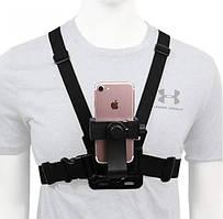 Кріплення на голову і груди для смартфонів