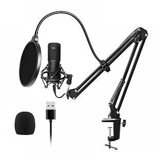Студійний конденсаторний мікрофон підставка поп-фільтр BlitzWolf BW-CM2
