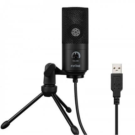 Микрофон для стрима Fifine K669B, фото 2