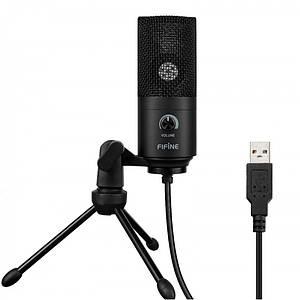 Мікрофон для стріму Fifine K669B