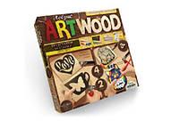 """Набір для випилювання лобзиком """"Art Wood"""" Підставки 10 Danko Toys"""