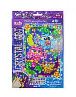 Набір Картинка з кристалів «Cristal art» Совушки-веселка Danko Toys