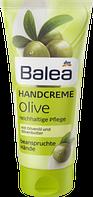 Крем для сухой кожи рук на основе пантенола и оливкового масла Balea Handcreme Olive