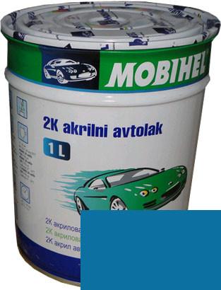 """Автокраска 428 Эмаль акриловая Helios Mobihel """"Медео"""" 0,75л без отвердителя"""