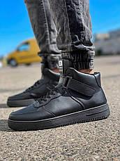 Кросівки чоловічі 18921, безбренда, чорні [ 41 42 43 44 45 ] р.(41-26,5 см), фото 3