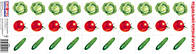 Ранок Кр. 2995 Розр.мат-л Веселі задачі Овочі