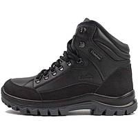 Кожаные зимние ботинки , с усиленными вставками. 41. 42 размеры