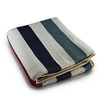 Простынь электрическая с сумкой Electric Blanket 150х120см (полосы, Разноцветные) [5733]