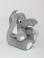 Большая мягкая игрушка, плюшевые игрушки, слоник 80 см., фото 1