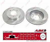 Диск тормозной передний вентилируемый 232x18 NISSAN SUNNY B14, ALMERA N15 1.4 95-  -ABS