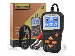 Тестер аккумуляторных батарей Konnwei KW650