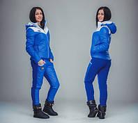 Зимний женский спортивный костюм с капюшоном, фото 1