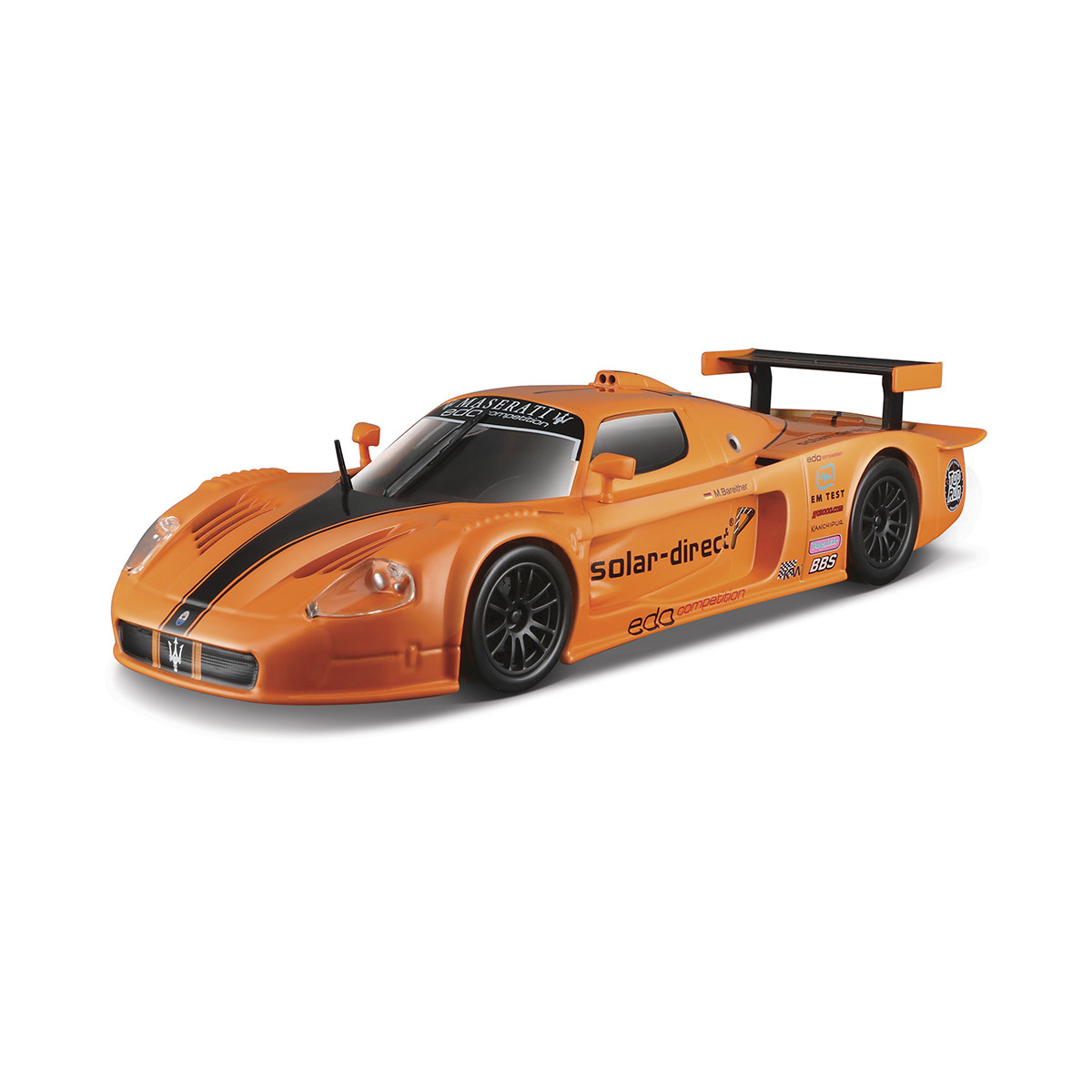 Автомодель - maserati mc12 (оранжевий, 1:24)