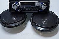 Авто Магнитола касетная elbee E3303  SP + колонки