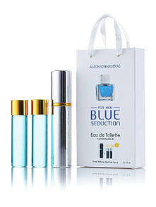 Набір 3*15мл чоловічий Antonio Banderas Blue Seduction