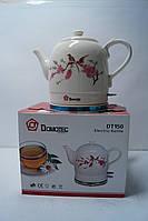 Дисковый керамический  чайник Domotec DT 150