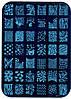 Набор для стемпинга с диском XY 12 + штампик и скребок