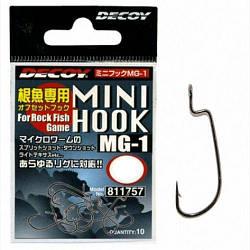 Гачок Decoy Mini Hook MG-1 6 10шт