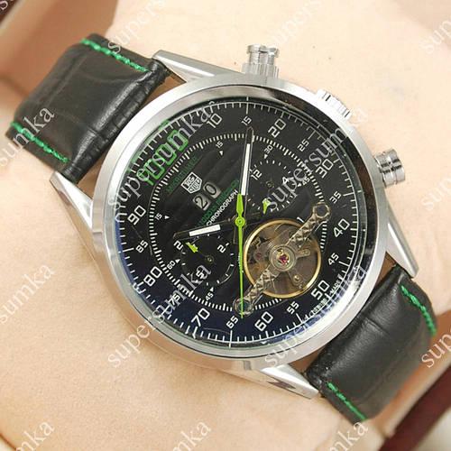 Надежные наручные часы Tag Heuer Mikrotimer 1000 Silver/Black/Green 2106