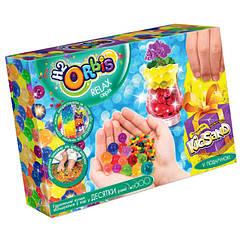 """Набір креативного творчості """"RELAX BOX"""" H2Orbis Danko Toys RLX-01 укр, гелеві кульки + кінетичний пісок"""