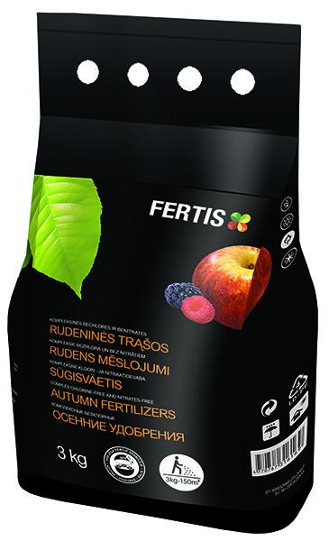 Удобрение осеннее универсальное  NPK 5-15-25 +ME (Arvi Fertis), 3 кг