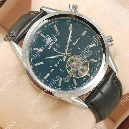 Аналоговые наручные часы Tag Heuer Carrera Silver/Black 2110