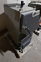 Твердотопливный котел Bizon F-10, 10 кВт, длительного горения, шахтного типа, передняя загрузка