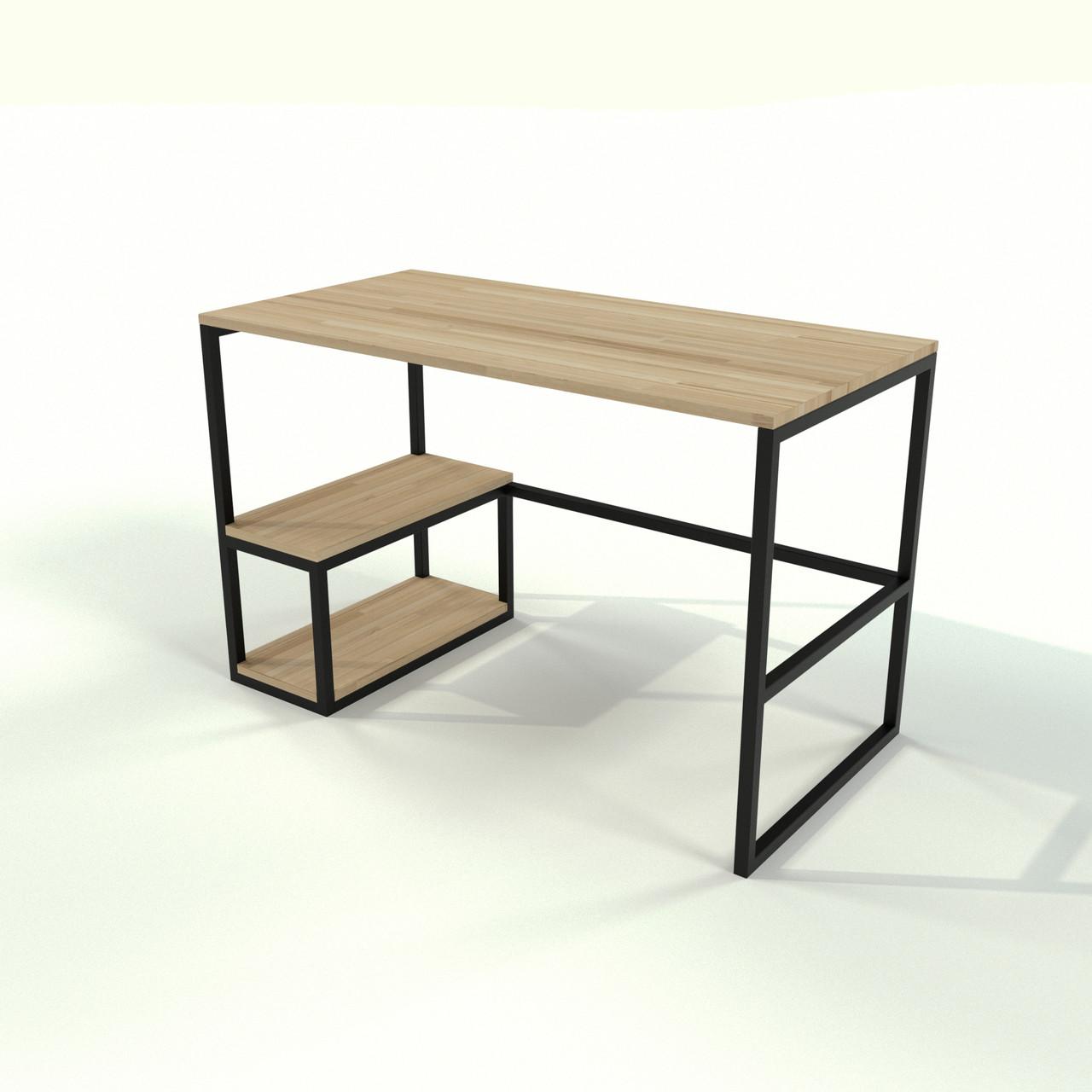 Письмовий стіл в стилі Loft офісний з натурального дерева
