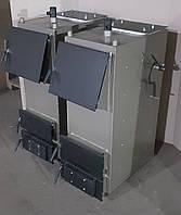 Твердотопливный котел Bizon F-20, 20 кВт, длительного горения, шахтного типа, передняя загрузка