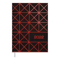 Щоденник датований 2022 LINEA A5 помаранчевий