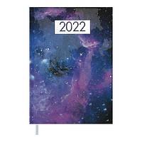 Щоденник датований 2022 A5 MIRACLE фіолетовий, тверда обкладинка