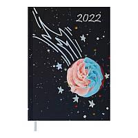 Щоденник датований 2022 A5 SWEET фіолетовий, тверда обкладинка