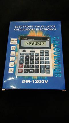 Калькулятор DM-1200V, фото 2