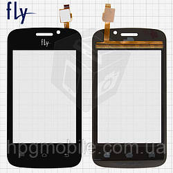 Сенсорный экран для Fly IQ239, тип 1, черный, оригинал