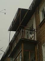 Вынос балкона хрущевка