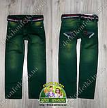 Джинсы зеленые для мальчика 2 года, фото 2